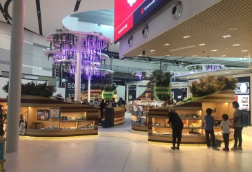 SYDNEY AIRPORT DUTY FREE OPENS