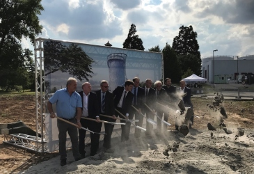 HEIDELBERG ENERGY STORAGE CENTRE BREAKS GROUND