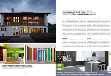 Casas Magazine Peru features Berchtesgaden Youth Hostel